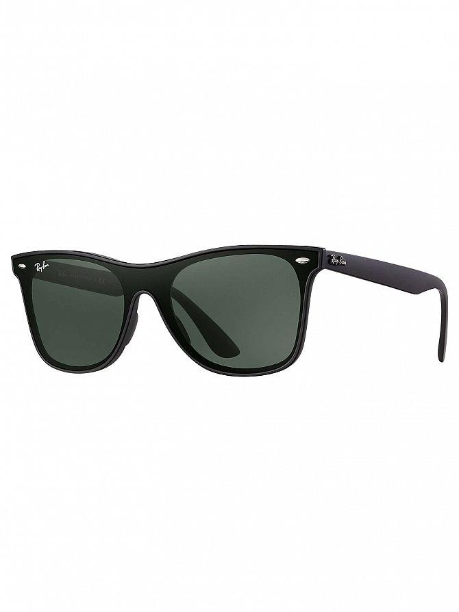 Ray-Ban Black RB4440N Blaze Wayfarer Sunglasses