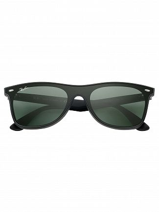 Ray-Ban Black RB4440N Blaze Wayfarer Sunglasses