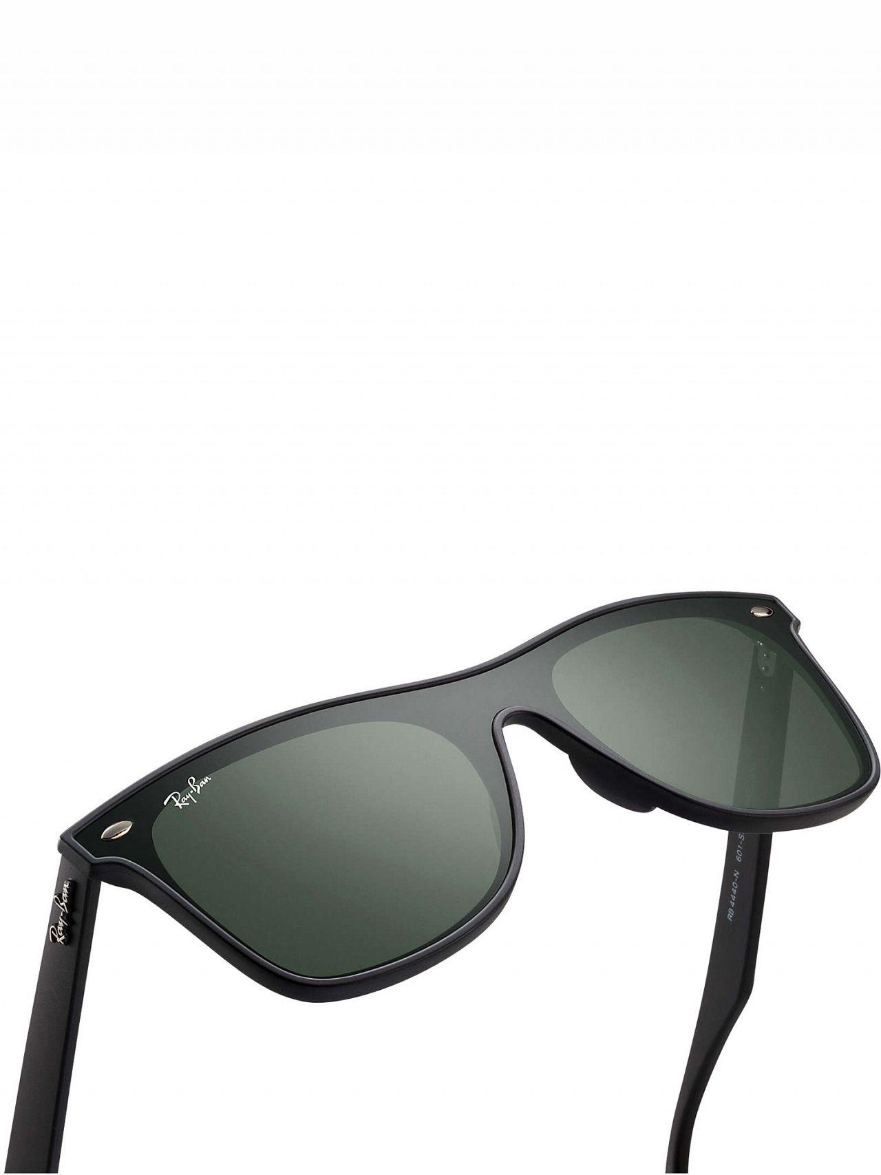 666b998b293 Ray-Ban Black RB4440N Blaze Wayfarer Sunglasses