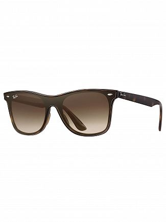 Ray-Ban Tortoise RB4440N Blaze Wayfarer Sunglasses