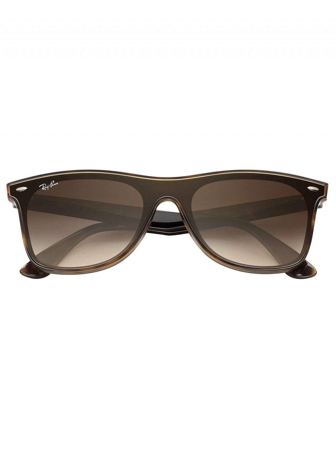 f7758d7f01 Ray-Ban Tortoise RB4440N Blaze Wayfarer Sunglasses