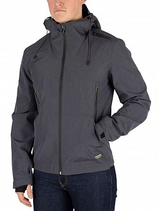 Superdry Dark Charcoal Arctic Elite Windcheater Jacket