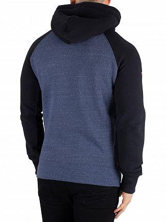 Superdry Ensign Snowy Sweat Shirt Store Raglan Pullover Hoodie