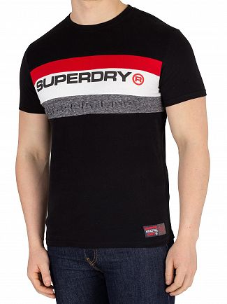 Superdry Black Trophy T-Shirt