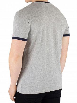 Tommy Hilfiger Grey Heather Logo T-Shirt