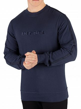 Diesel Navy Willy Sweatshirt