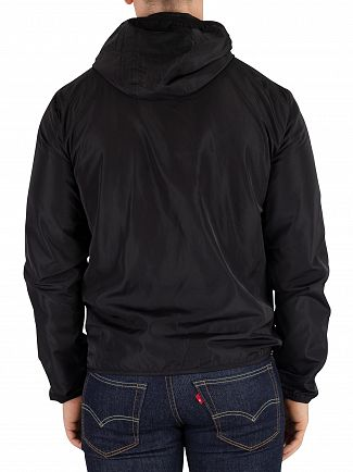 EA7 Black Bomber Jacket