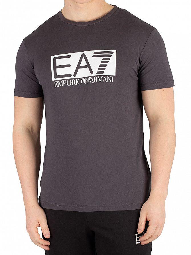 EA7 Asphalt Box Graphic T-Shirt