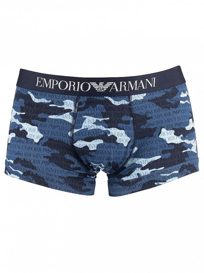 Emporio Armani Marine Patten Trunks