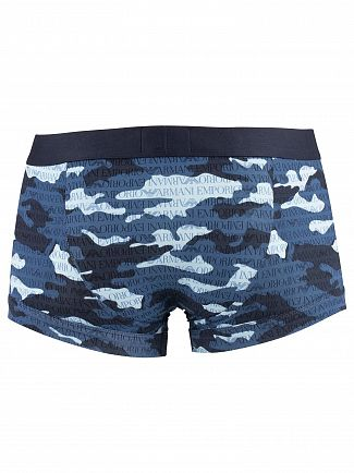 Emporio Armani Marine Patten Trunks
