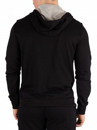 Emporio Armani Black Pullover Hoodie