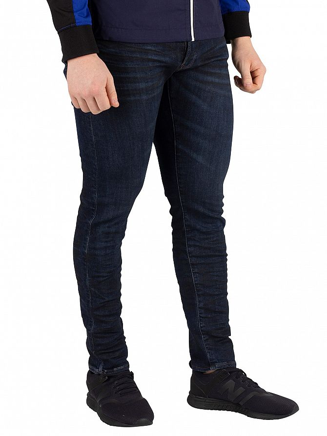 G-Star 3D Cobbler Processed 3301 Deconstructed Slim Jeans
