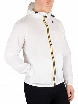 K-Way White Le Vrai 3.0 Claude Jacket