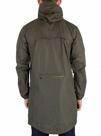 K-Way Black Torba Green Le Vrai 3.0 Eiffel Jacket