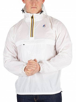 K-Way White Le Vrai 3.0 Leon Jacket