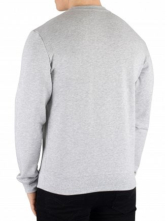 Lacoste Grey Graphic Sweatshirt