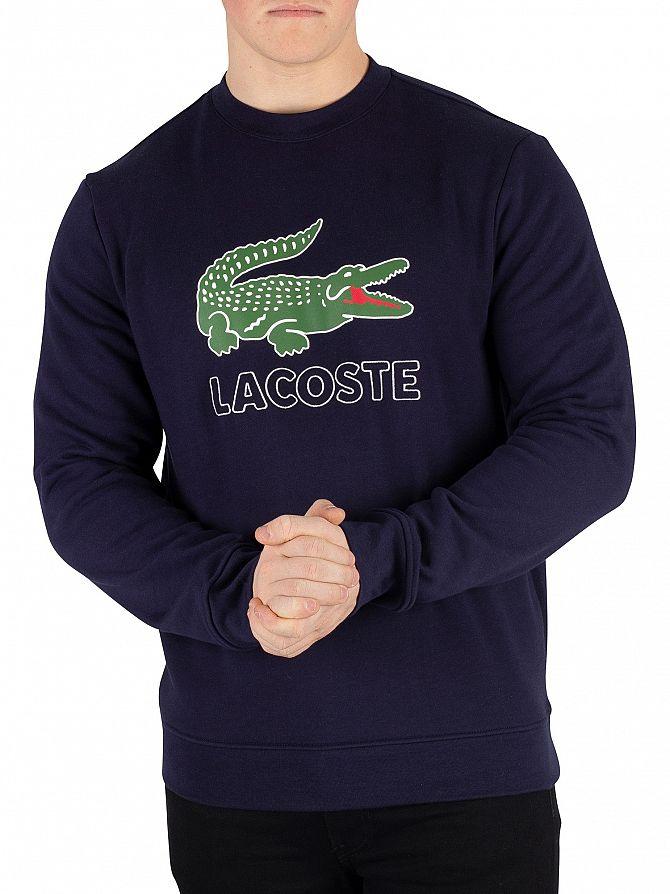 Lacoste Marine Graphic Sweatshirt