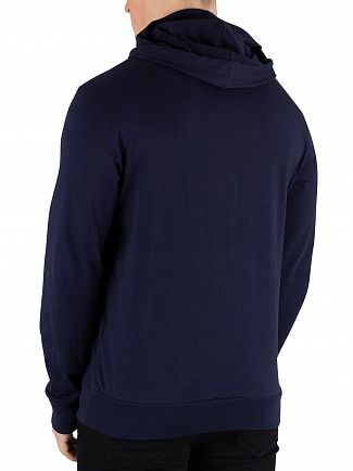 Lacoste Navy Light Pullover Hoodie