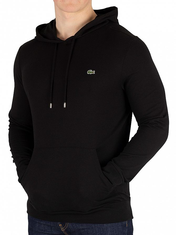 Lacoste Black Light Pullover Hoodie