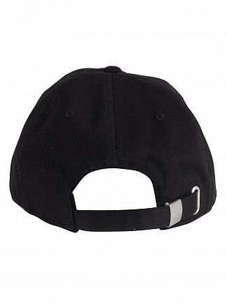 Lacoste Black Logo Baseball Cap
