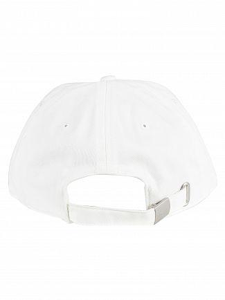 Lacoste White Logo Baseball Cap