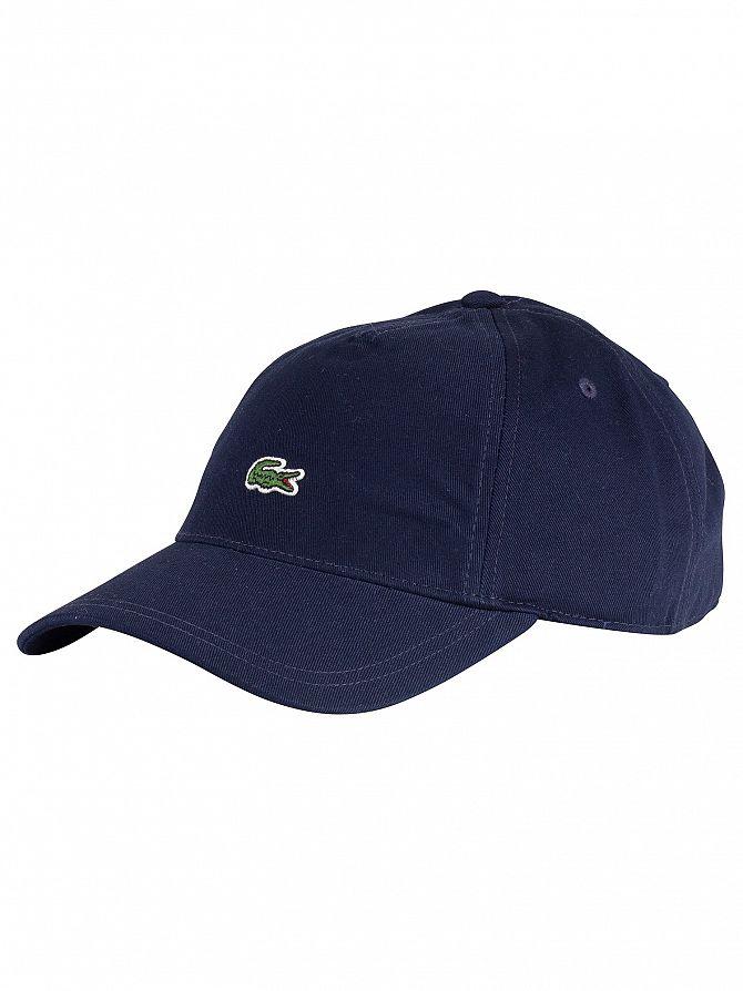 Lacoste Navy Logo Baseball Cap