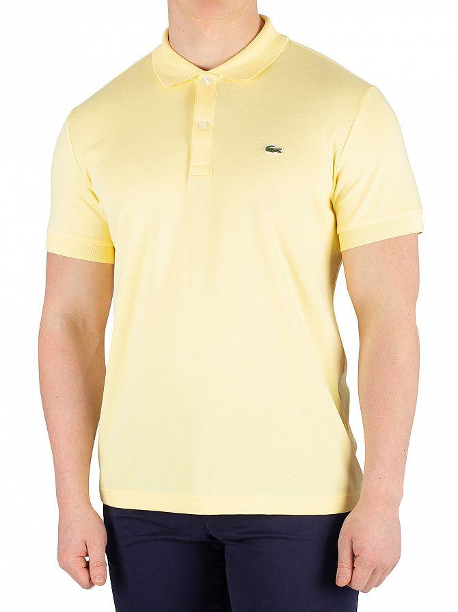 Lacoste Yellow Poloshirt