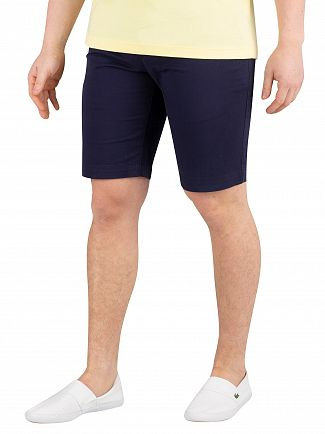 Lacoste Navy Slim Fit Chino Shorts