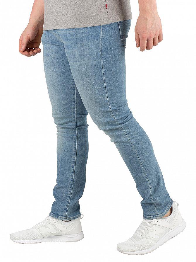 98ec824bb6a1d Levi s Hombre 519 jeans ajustados extremos