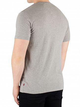 Levi's Boxtab Midtone Graphic Setin Nack T-Shirt