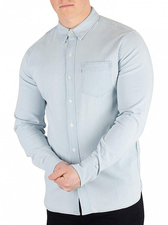 Levi's Super White Light Sunset Pocket Shirt