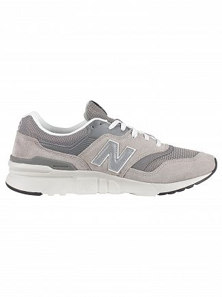 New Balance Grey 997H Suede Trainers