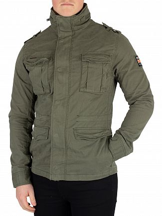 Superdry Army Green Classic Rookie Jacket
