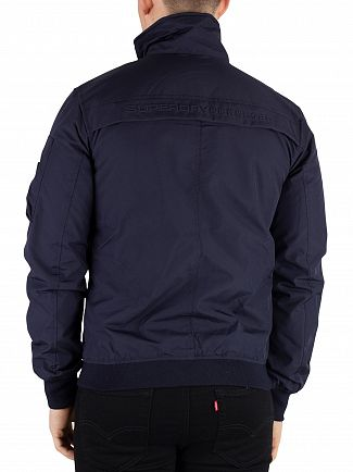 Superdry True Navy Moody Light Bomber Jacket