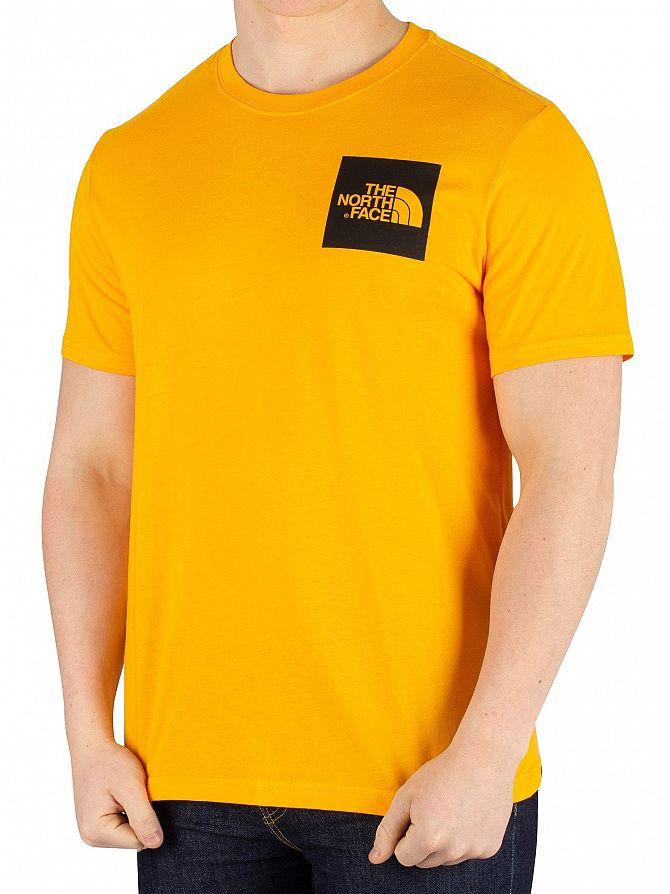 The North Face Orange Fine T-Shirt