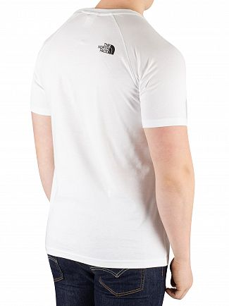 The North Face White Rag Red Box T-Shirt