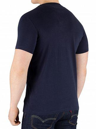 Timberland Navy Dunstan River Slim T-Shirt
