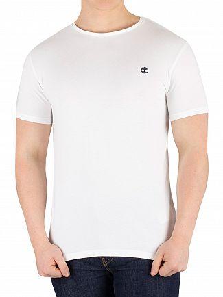 Timberland White Dunstan River Slim T-Shirt