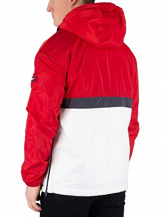 Tommy Jeans Samba/Multi Colorblock Popover Jacket