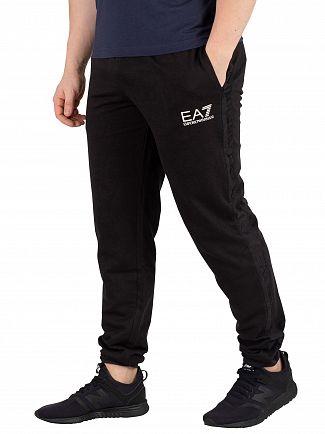 EA7 Black Logo Joggers