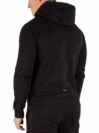 EA7 Black Pullover Hoodie