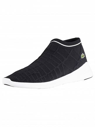 Lacoste Black/White LT Fit Sock 119 2 SMA Trainers