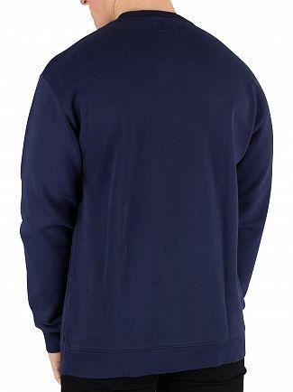 Tommy Jeans Black Iris Navy Classic Sweatshirt