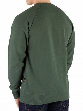 Vivienne Westwood Green Badge Classic Sweatshirt
