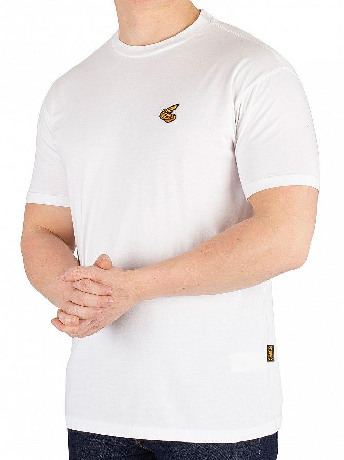Vivienne Westwood White Boxy Badge T-Shirt