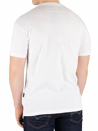 Vivienne Westwood White Boxy Badge T-Shirt