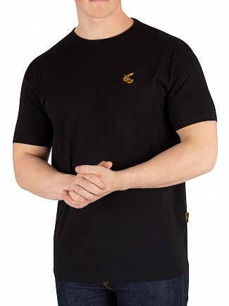 Vivienne Westwood Black Boxy Badge T-Shirt