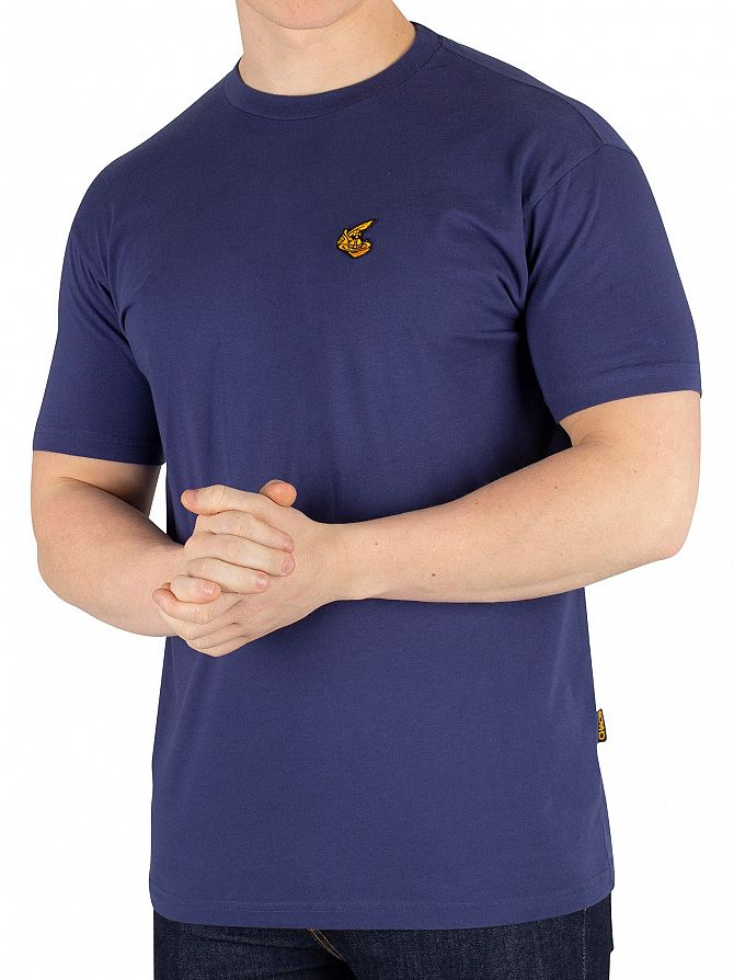 Vivienne Westwood Navy Boxy Badge T-Shirt