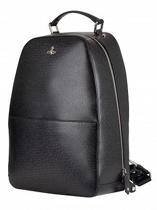 Vivienne Westwood Black Kent Backpack