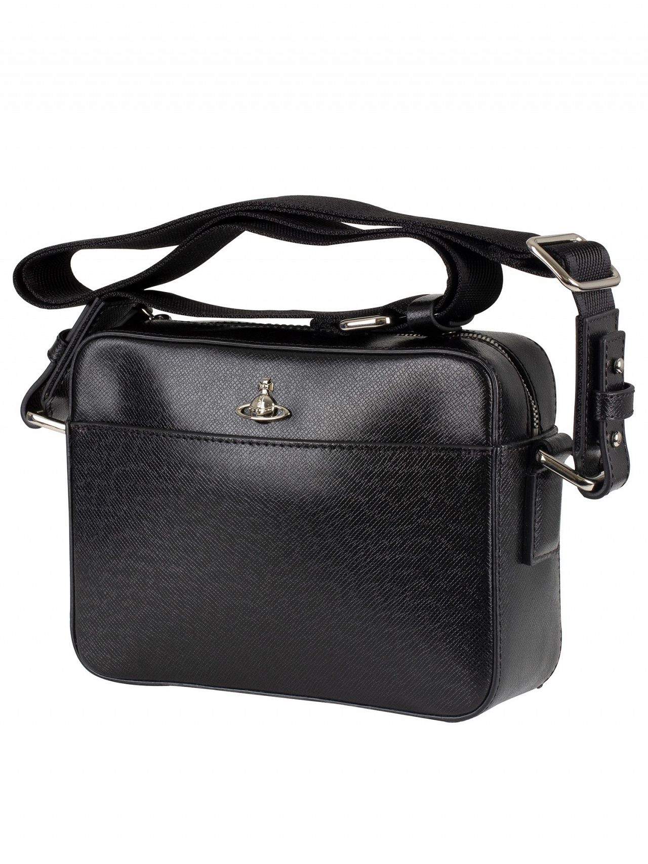 f3529c05f3 Vivienne Westwood Black Kent Camera Shoulder Bag